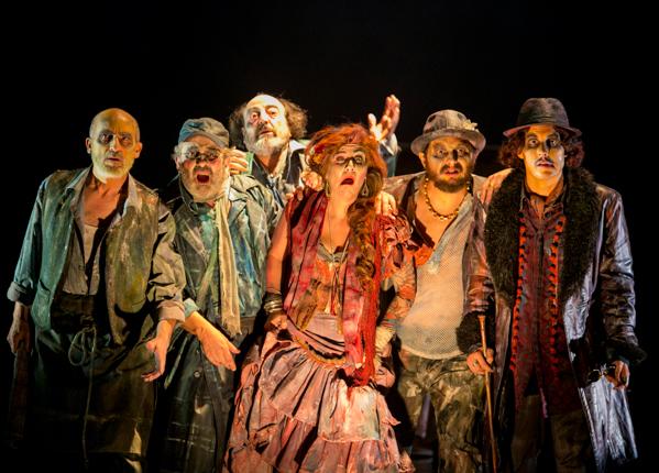 Resultado de imagen de teatro clasico de sevilla luces de bohemia